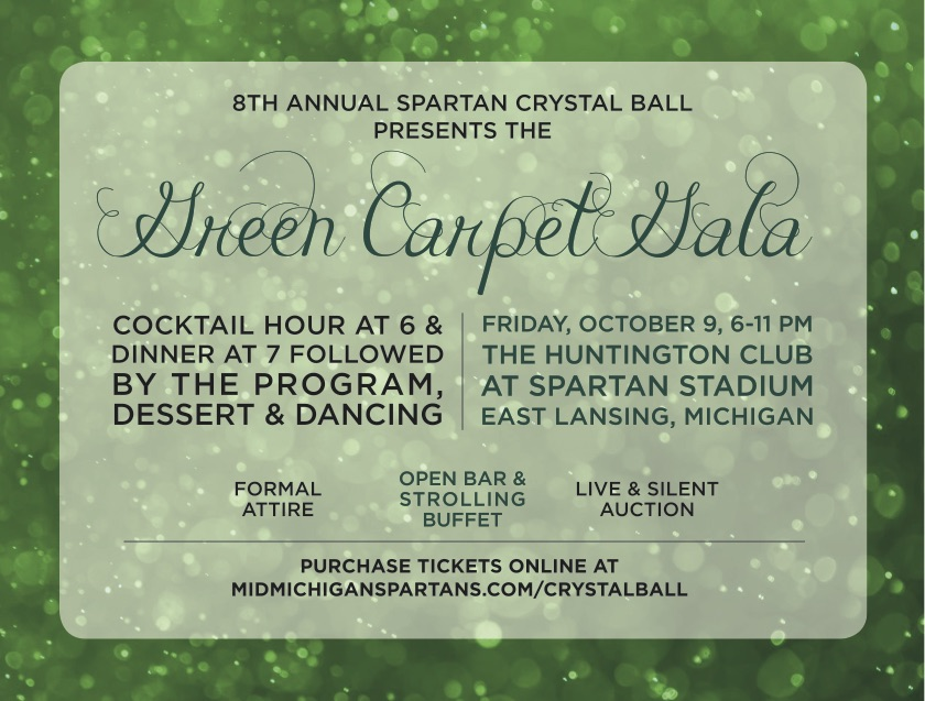 Spartan Crystal Ball presents The Green Carpet Gala